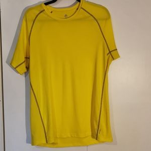 🏄🏻♂️ 2 for $30 💘 Adidas Top, yellow, size L